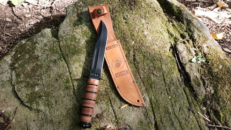 KABAR USMC Fighting/Utility knife review