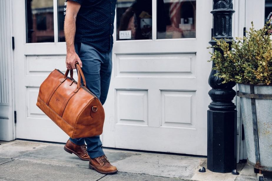 best professional leather duffel